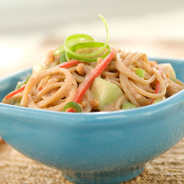 Asian Peanut Noodle and Vegetable Salad – Recipes